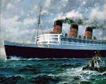 Queen Mary Ocean Liner History http://history.inrebus.com/index.php?category=1001